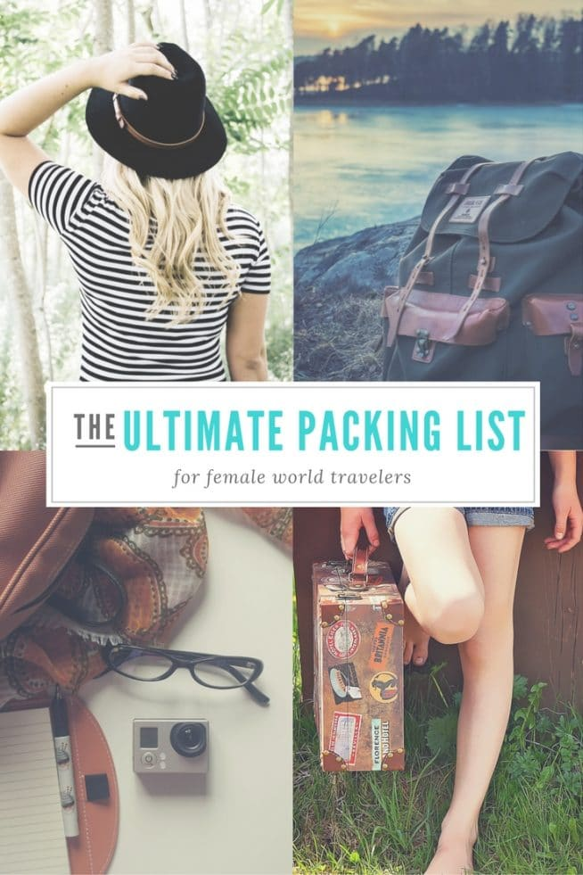 Packing List for Long-Term Travel — Pack for a Year of World Travel 1590c6ada7143