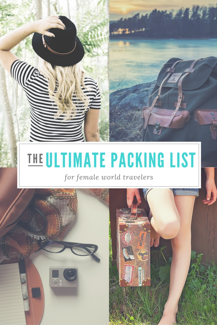 Packing List For Long Term Travel Pack For A Year Of World Travel