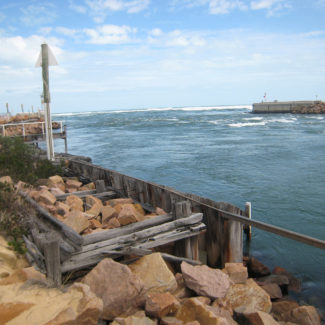 Lakes Entrance in New South Wales, Australia