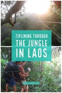 Ziplining Through the Jungle in Laos