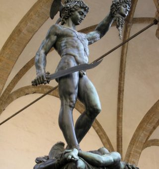 A David Statue in Florence