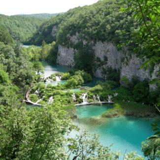 Visting Plitvice Lakes
