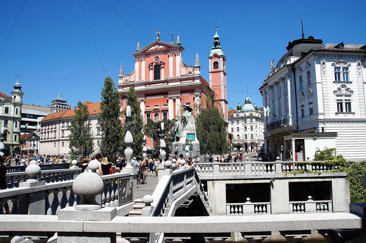 Old Town, Ljubljana
