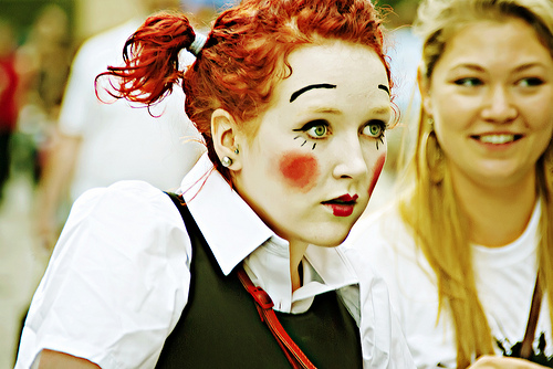 Edinburgh Fringe Clown 2009