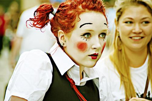 Edinburgh Fringe Clown 2009