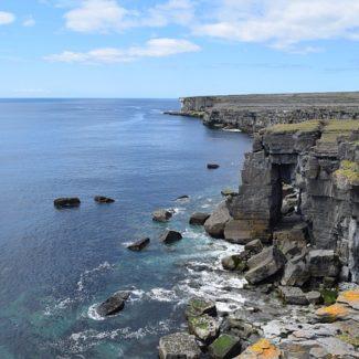Inismore cliffs on the Aran Islands
