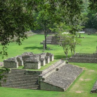 The Maya ruins near Copan Ruinas, Honduras