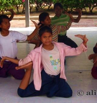 Cambodian Dancer Children