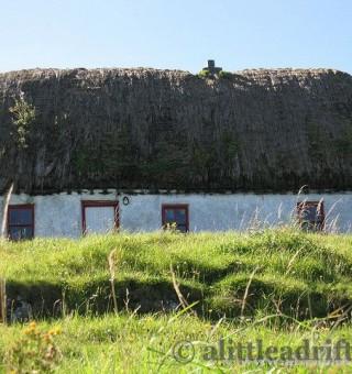 Traditional Irish Cottage on the Aran Islands