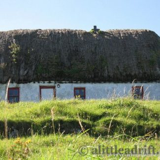 Traditional Irish Cottage on the Aran Islands