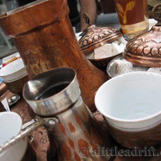 Traditional Turkish coffee in Sarajevo, Bosnia