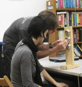 Lock Picking Tutoring at HacDC
