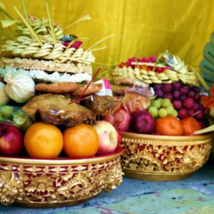 Bali fruit offering