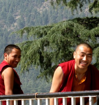 Monks in Dharamsala
