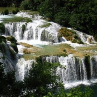 krka waterfall national park