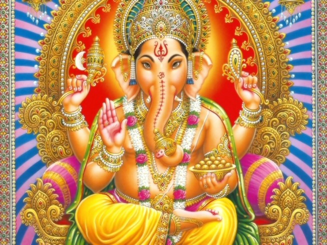 Ganesha, a popular and prominent Hindu God