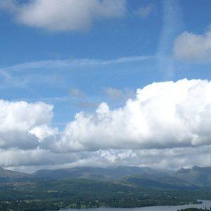 pretty clouds lake district