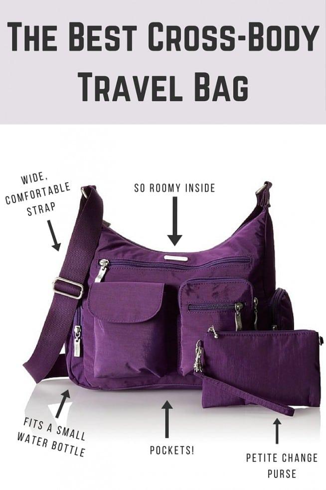 The best cross-body travel purse