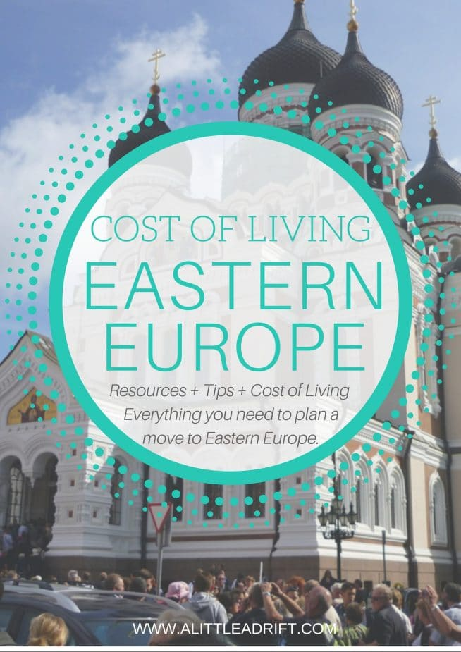 Cost of Living in Eastern Europe