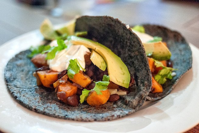 Inspired by Mexico: Simple Sweet Potato Tacos