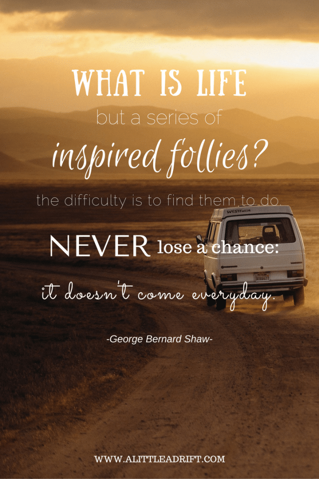 inspiring george bernard shaw travel quote