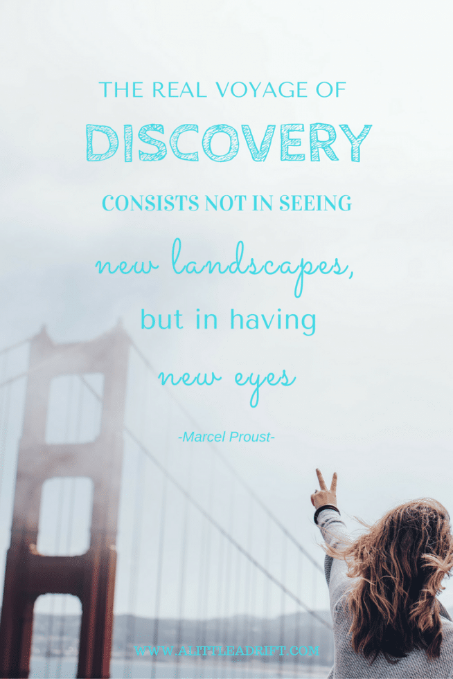 proust quote about discovery