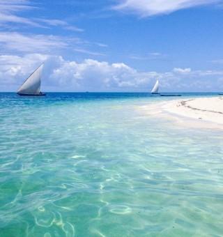 Kendwa beach in Zanzibar