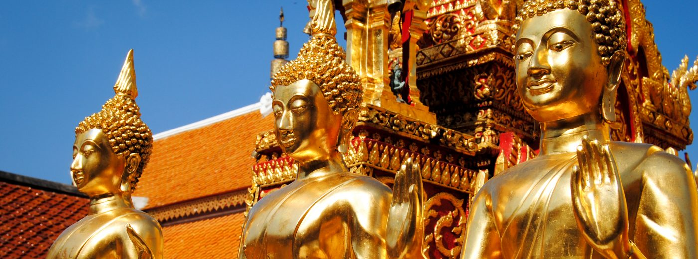Doi Suthep temple in Chiang Mai, Thailand