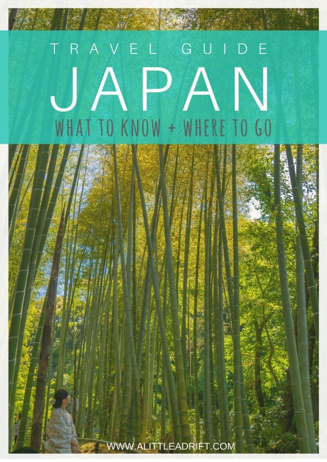 Everything you should know before traveling #Japan. With an overview of the essential history of the country and how that impacts travel in Japan, to the best day trips from #Tokyo, how to visit the temples of #Kyoto, and so much more. #TravelTips #TravelGuide #Wanderlust #BucketList