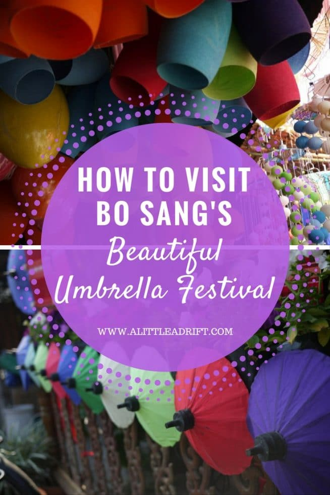 How To Visit The Bo Sang Umbrella Village Near Chiang Mai Thailand