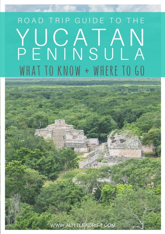 Yucatan, Mexico Travel Guide: What to Know & Where to Go on a road trip. A complete guide of travel recommendations, great reads, and responsible travel suggestions. Whether you have a week or a month, this guide shares the a clear itinerary! #Mexico #TravelTips #TravelGuide #Wanderlust #BucketList #Yucatan #RivieraMaya