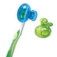 Steripod for toothbrush