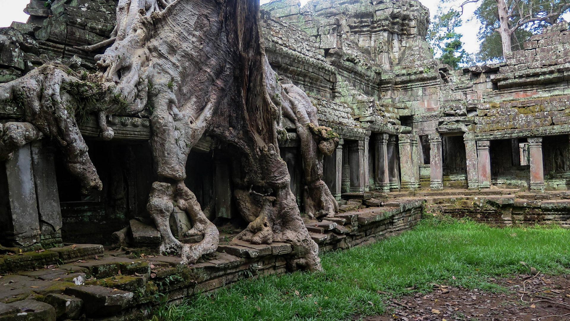 Angkor Wat, Camboida