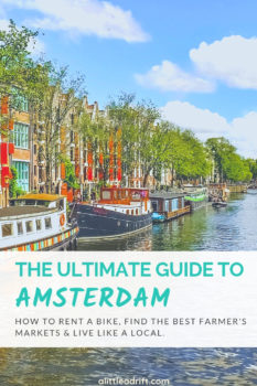 Explore Amsterdam like a local with this top guide to everything you need to see, eat, and explore. From how to rent a bike, to the best spots to visit, and day trips from the city, you'll have an unforgettable trip to #Amsterdam, #Netherlands. #Wanderlust #bucketlist #europe #travelguide #traveltips